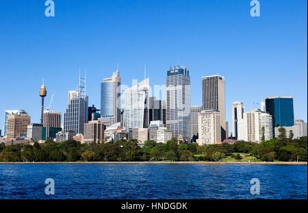 Downtown Sydney, Australia - Stock Image