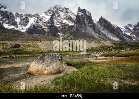 Itivdlerssuaq Area in South greenland - Stock Image