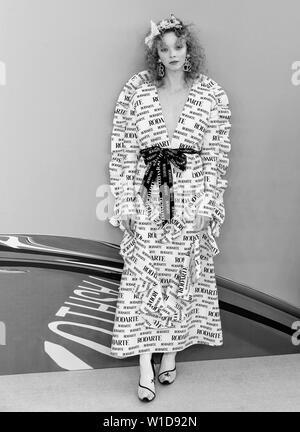 New York, NY - June 03, 2019: Lily Nova attends 2019 CFDA Fashion Awards at Brooklyn Museum - Stock Image