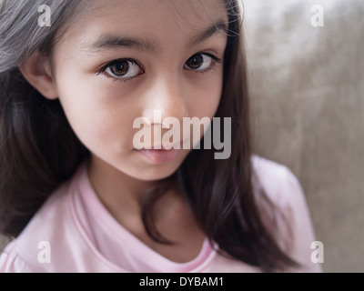 Girl portrait. MR - Stock Image