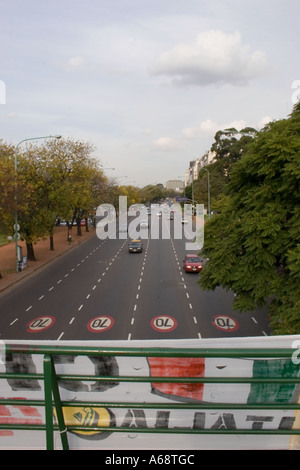 Large road in Buenos Aires - Stock Image