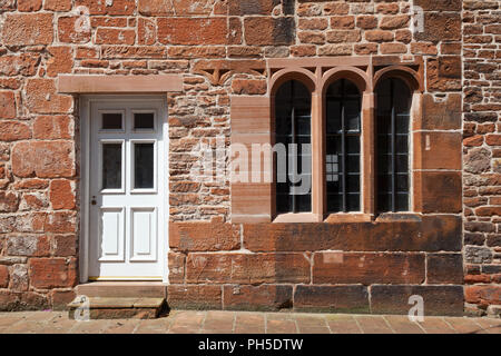 Penrith, Cumbria, UK, England, Red Stone buildings - Stock Image