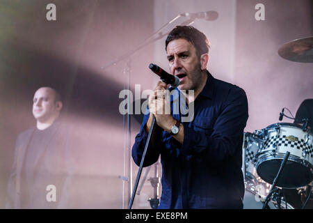 London, UK, 12th July 2015. The Specials Outdoor Concert, Kew Gardens Credit:  Robert Stainforth/Alamy Live News - Stock Image