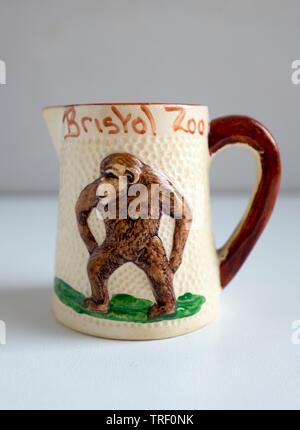 Vintage Bristol Zoo Mug - Stock Image