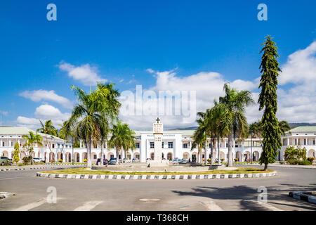 Dili, East Timor - Aug 10 2015: Palacio do Governo de Timor-Leste. Government's palace of East Timor. - Stock Image