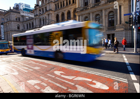 City Bus Brisbane Queensland Australia - Stock Image