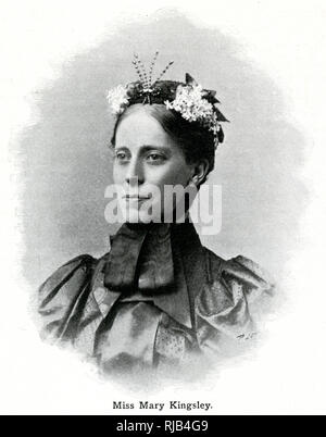 Mary Henrietta Kingsley (1862 - 1900), English traveller and writer. - Stock Image