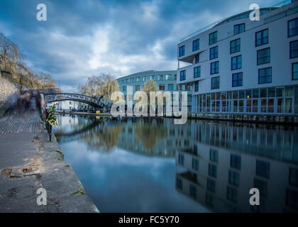 Camden Lock - Stock Image