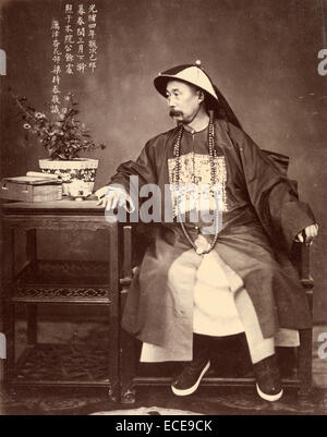 Portrait of Li Hongzhang - Stock Image