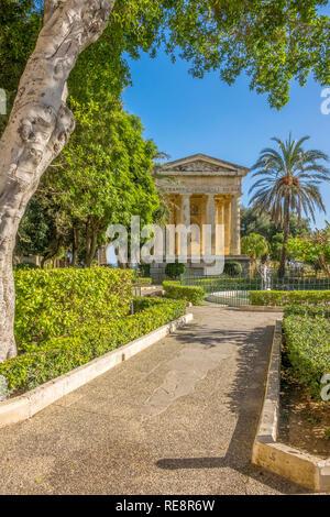 Lower Barrakka Gardens, Valletta, Malta - Stock Image