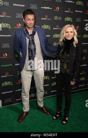 Sydney, Australia. 12th July 2019. Jack and the Beanstalk Giant 3D musical spectacular red carpet at the State Theatre. Pictured: Danielle Spencer. Credit: Richard Milnes/Alamy Live News - Stock Image