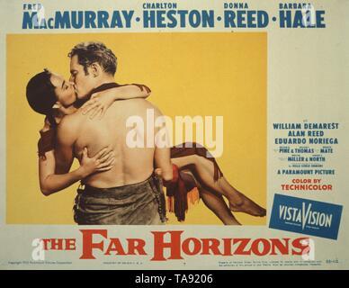 THE FAR HORIZONS (1955)  CHARLTON HESTON  RUDOLPH MATE (DIR)  MOVIESTORE COLLECTION LTD - Stock Image