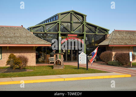National Toy Train Museum, Lancaster County, Pennsylvania, USA - Stock Image