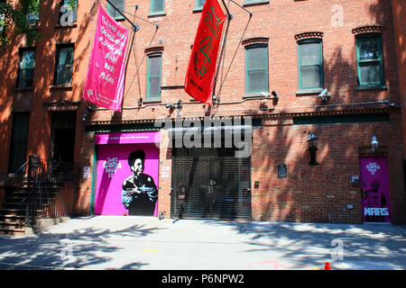 NEW YORK, NY - JUNE 30: 40 Acres and A Mule Filmworks. Spike Lee's joint in Fort Greene, Brooklyn on JUNE 30th, 2017 in New York, USA. (Photo by Wojci - Stock Image