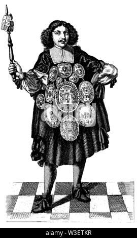 Speaker (1674), ,  (cultural history book, 1875) - Stock Image