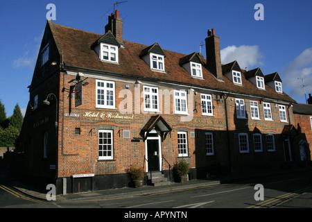 Black Lion Inn Fishpool Street St Albans - Stock Image