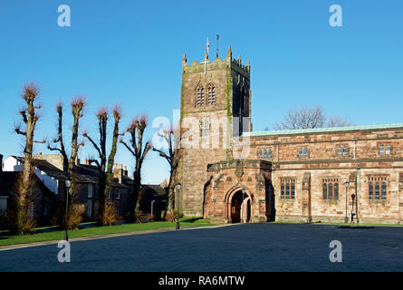 St Stephen's Church, Kirkby Stephen, Cumbria, England UK - Stock Image