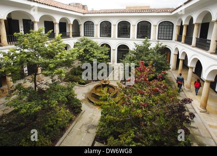 Botero Museum of the Banco de la República,  Bogotá, Colombia - Stock Image