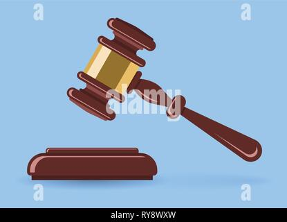 Hammer Judge or Auction - Stock Image