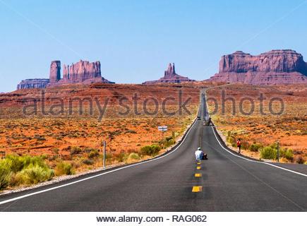 Monument Valley, Arizona (August 2018) - Stock Image