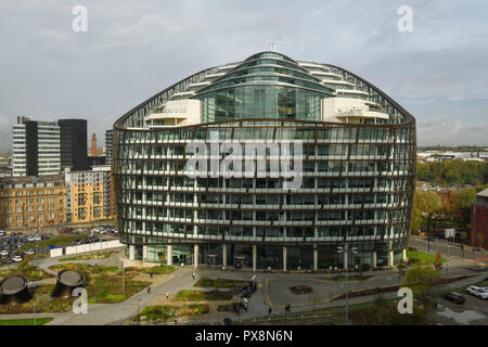 The Co-Operative Group headquarters at 1 Angel Square Manchester - Stock Image