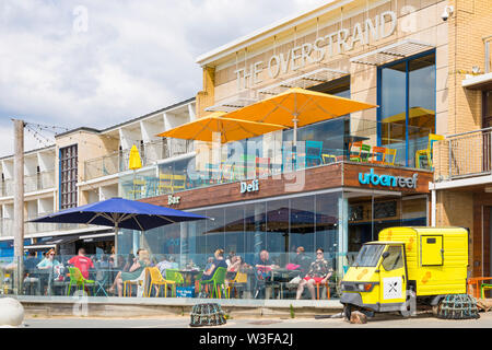 Urban Reef at The Overstrand, Boscombe, Bournemouth, Dorset UK in July - Stock Image