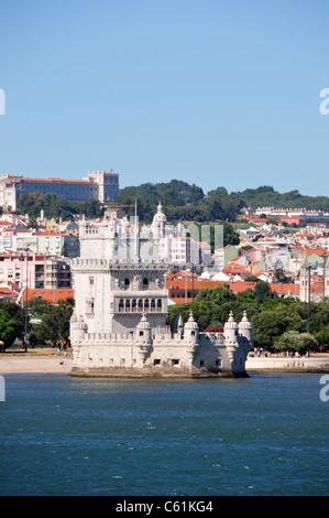 Belem Tower, Lisbon, Portugal - Stock Image