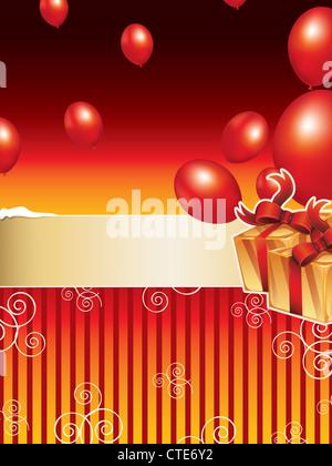 holiday background - Stock Image