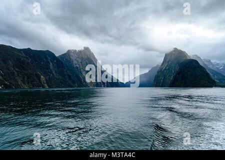 View of Milford Sound - Stock Image