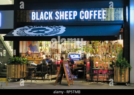 Black Sheep Coffee shop, Southwark, London, England, UK - Stock Image