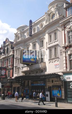 Apollo Theatre Shaftesbury Avenue London August 2013 - Stock Image