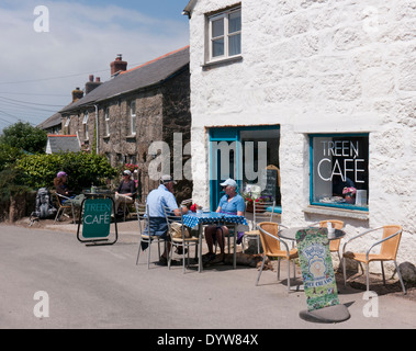 Treen Cafe in Britain - Stock Image
