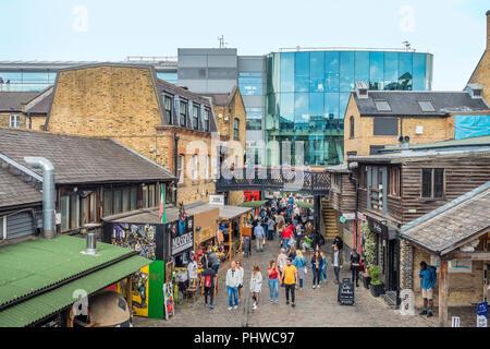 Camden Lock Market,Camden,London,England,UK - Stock Image