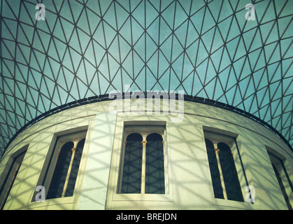 The Great Court in the British Museum,London,England,UK - Stock Image