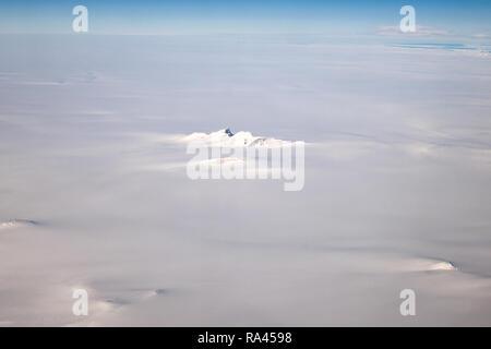 Greenland ice sheet - Stock Image