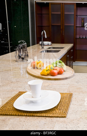 Interiors of the kitchen - Stock Image
