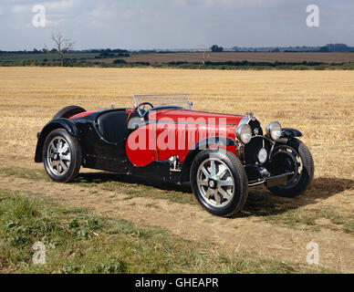 1932 Bugatti Type 55 Super Sport Roadster Modifie 2 27 litre Inline 8 DOHC engine Country of origin France - Stock Image