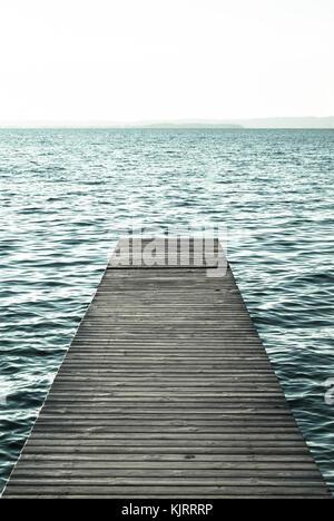 Garda Lake, Lazise, Veneto, Italy - Stock Image