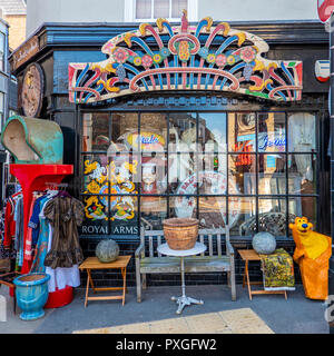 Whistle Dixie,Vintage Shop,King Street,Old Town,Margate,Thanet,Kent,England - Stock Image