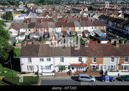 Swindon skyline, UK. - Stock Image