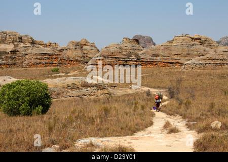 Isalo National Park, Ranohira, Madagascar, Africa. - Stock Image
