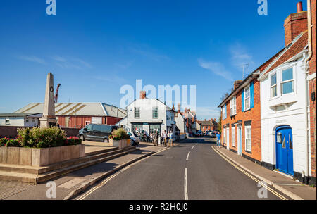 Burnham on Crouch High Street. - Stock Image