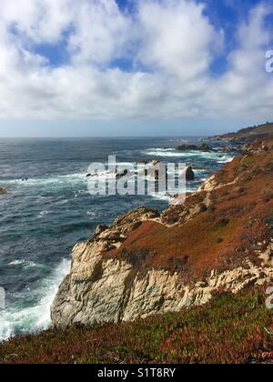 Rugged coastline - Stock Image