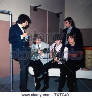 The Rolling Stones. Credit: 385801_Globe Photos/MediaPunch - Stock Image