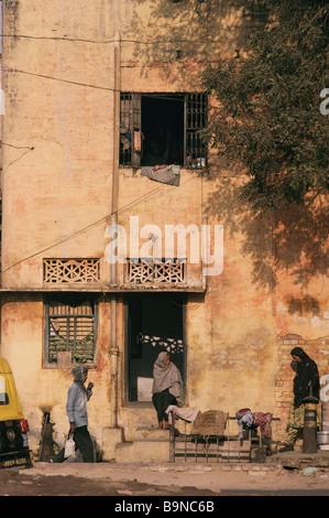 Street scene central India - Stock Image