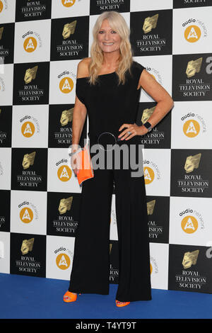The Royal Television Society Awards (RTS Awards) 2019 held at Grosvenor House Hotel - Arrivals  Featuring: Gaby Roslin Where: London, United Kingdom When: 19 Mar 2019 Credit: Lia Toby/WENN.com - Stock Image