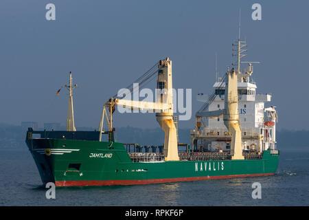 General Cargo Ship Jämtland - Stock Image
