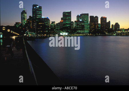 Australia New South Wales Sydney Circular Quay CBD - Stock Image