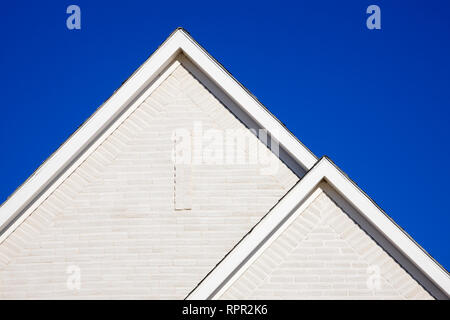 Two Gabled Rooflines - Stock Image