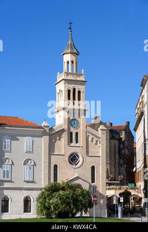 Church and monastery of St. Francis, Split, Croatia - Stock Image